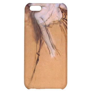 Edgar Degas - Standing with arms stretched bent to iPhone 5C Cases