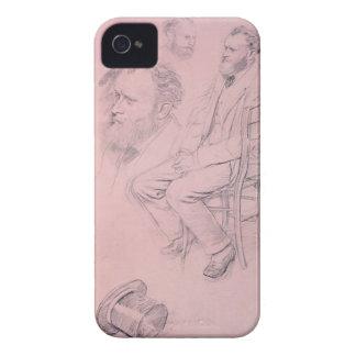 Edgar Degas   Study for Portrait of Edouard Manet Case-Mate iPhone 4 Cases
