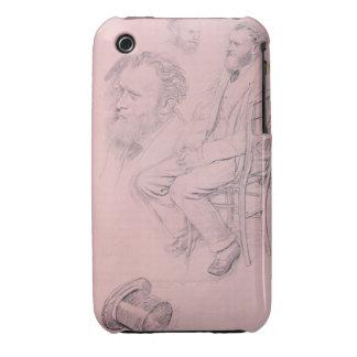 Edgar Degas   Study for Portrait of Edouard Manet iPhone 3 Case