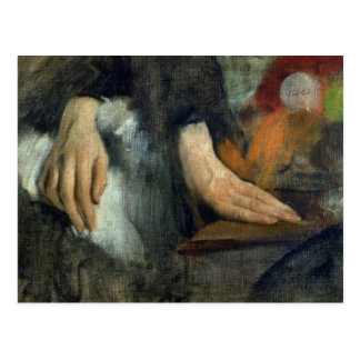 Edgar Degas | Study of Hands, 1859-60 Postcard