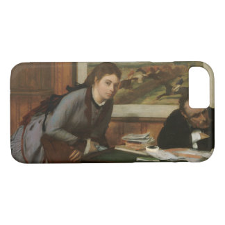 Edgar Degas - Sulking iPhone 7 Case