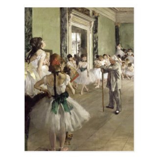 Edgar Degas | The Ballet Class Postcard