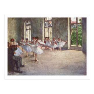 Edgar Degas | The Ballet Rehearsal Postcard