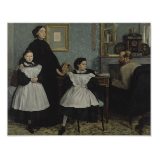 Edgar Degas - The Bellelli Family Poster