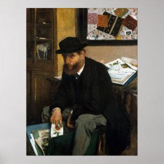 Edgar Degas The Collector of Prints