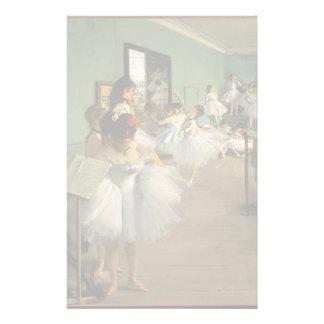 Edgar Degas-The dance class 1874 Customized Stationery