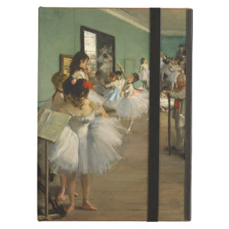 Edgar Degas-The dance class 1874 iPad Air Case