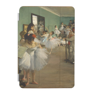Edgar Degas-The dance class 1874 iPad Mini Cover
