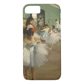 Edgar Degas-The dance class 1874 iPhone 8/7 Case