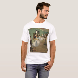 Edgar Degas-The dance class 1874 T-Shirt