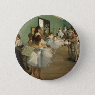 Edgar Degas The Dance Class 6 Cm Round Badge