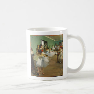 Edgar Degas The Dance Class Coffee Mug
