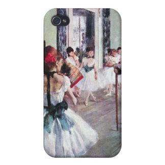 Edgar Degas - The dance class iPhone 4 Case