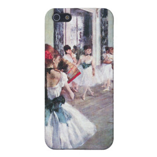 Edgar Degas - The dance class iPhone 5 Covers