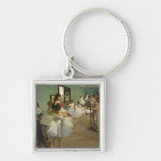 Edgar Degas The Dance Class Key Ring