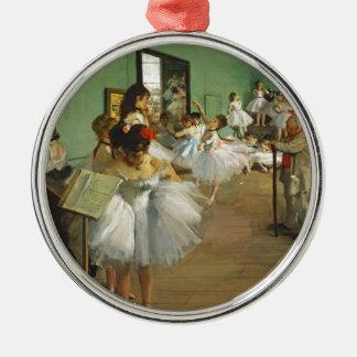Edgar Degas The Dance Class Metal Ornament