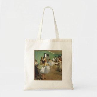 Edgar Degas The Dance Class Tote Bag