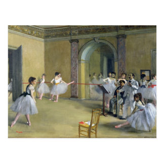 Edgar Degas | The Dance Foyer Postcard