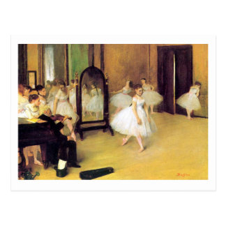 Edgar Degas | The Dancing Class Postcard