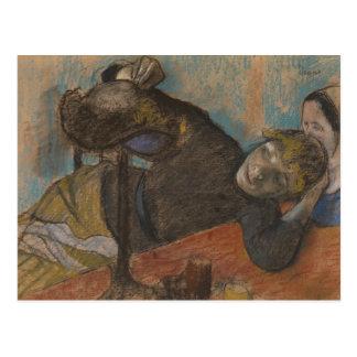Edgar Degas - The Milliner Postcard