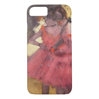 Edgar Degas The Pink Dancers iPhone Case