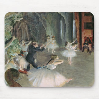 Edgar Degas   The Rehearsal of the Ballet on Stage Mouse Pad