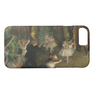 Edgar Degas - The Rehearsal of the Ballet Onstage iPhone 8/7 Case