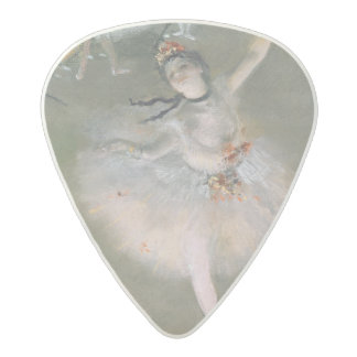 Edgar Degas   The Star, or Dancer on the stage Acetal Guitar Pick