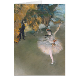Edgar Degas | The Star, or Dancer on the stage Card