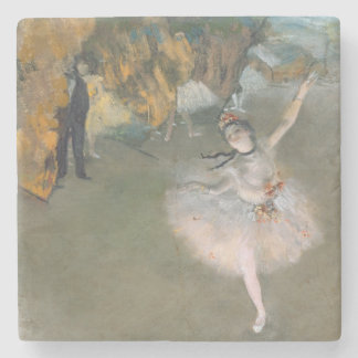 Edgar Degas | The Star, or Dancer on the stage Stone Coaster