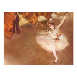 Edgar Degas The Star Postcard