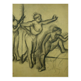 Edgar Degas   Three Dancers, c.1900 Postcard