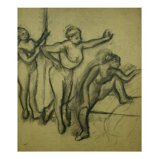 Edgar Degas | Three Dancers, c.1900 Poster