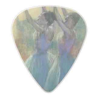 Edgar Degas   Two Blue Dancers Acetal Guitar Pick