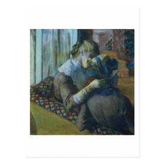 Edgar Degas | Two Women Postcard
