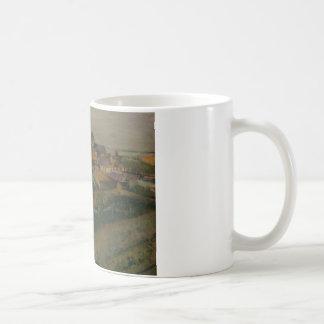 Edgar Degas - View of Saint-Valery-sur-Somme Coffee Mug
