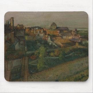 Edgar Degas - View of Saint-Valery-sur-Somme Mouse Pad