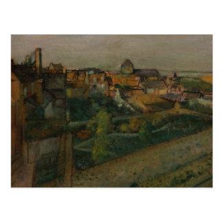Edgar Degas - View of Saint-Valery-sur-Somme Postcard