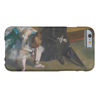 Edgar Degas - Waiting Barely There iPhone 6 Case