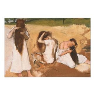 Edgar Degas - Women Combing Their Hair Art Photo