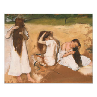 Edgar Degas - Women Combing Their Hair Photograph