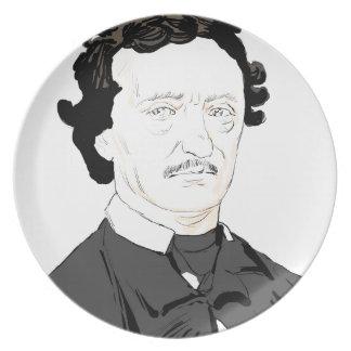 Edgar Poe Plate