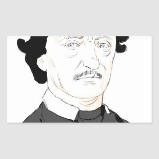 Edgar Poe Rectangular Sticker