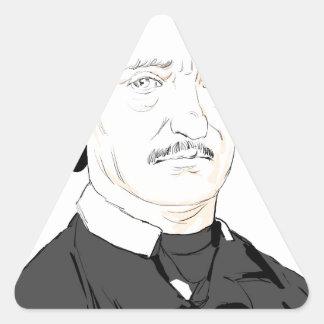 Edgar Poe Triangle Sticker