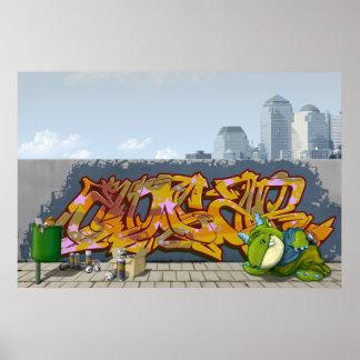 Edgar's roofridge masterpiece poster