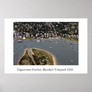 Edgartown Harbor 2006 Poster