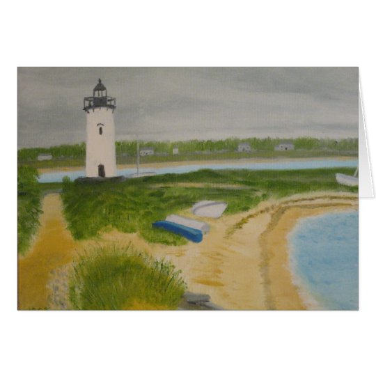 Edgartown Lighthouse Card