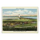 Edgartown Lighthouse Martha's Vineyard c1925 Card