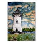 Edgartown Lighthouse Marthas Vineyard Card