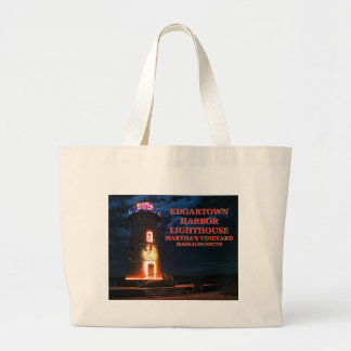 Edgartown Lighthouse,Martha's Vineyard MA Tote Bag